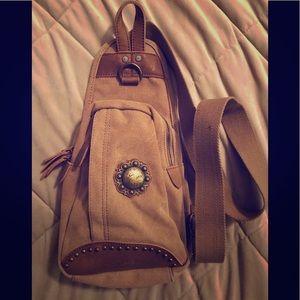 Montana West sling small sling bag